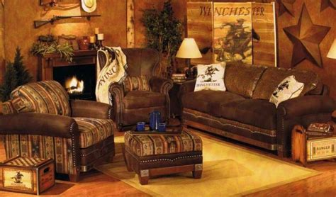 Rustic Living Room Furniture #1469 Home And Garden Photo