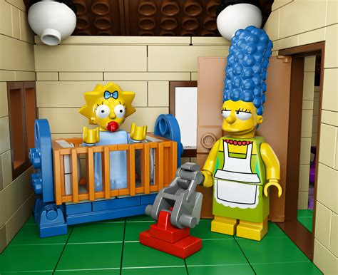 Official Images And Video Of Lego's 'the Simpsons' House