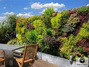 Mur Vegetal Exterieur : am nagement terrasse paris cap sur la m diterran e ~ Melissatoandfro.com Idées de Décoration