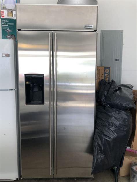 ge monogram   built  side  side refrigerator  sale  melrose park il offerup
