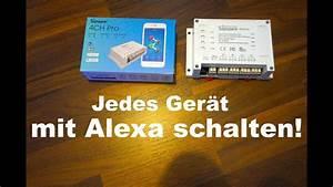 Licht Mit Alexa Steuern : amazon echo jedes elektroger t mit alexa steuern sonoff ~ Lizthompson.info Haus und Dekorationen