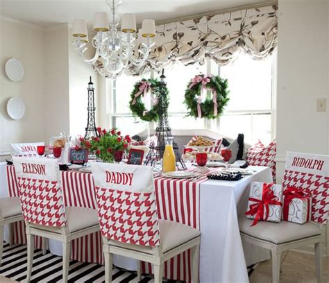 christmas kitchen table decorating ideas photograph source