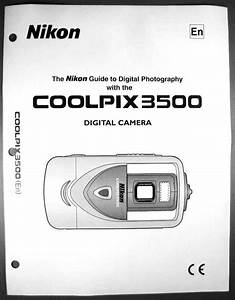 Nikon Coolpix 3500 Digital Camera User Guide Instruction