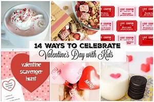 14 Ways to Celebrate Valentine's Day with Kids | Gifts ...