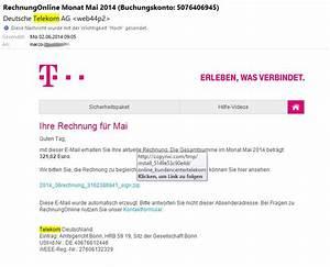 Meine Telekom Rechnung : warnung vor telekom virus anleitung zum erkennen ~ Themetempest.com Abrechnung