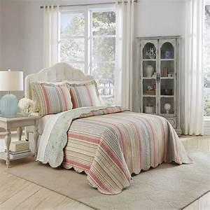waverly, spring, bling, oversized, reversible, bedspread, set