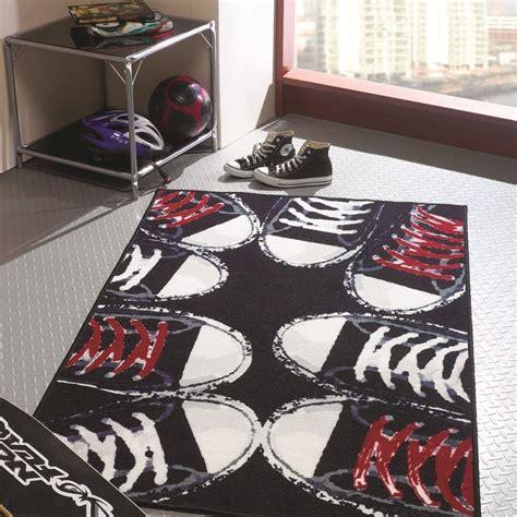 tapis chambre ado fille tapis chambre ado sneakers flair rugs 100x160