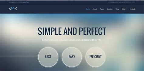 Awesome Java Html Website Templates