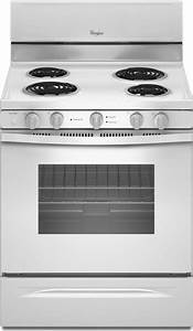 Whirlpool Wfc340s0aw 30 U0026quot  Freestanding Electric Range With