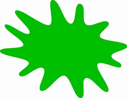 Splat Paint Clipart Clip Vector Clker Svg