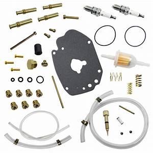 For S U0026s Cycle Basic Rebuild Kit For Super E Carburetors