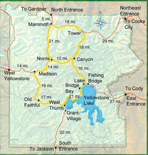 yellowstone hotels map  worlds  hotels