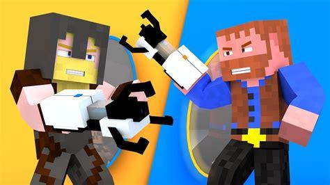 portal gun mod madness minecraft animation youtube