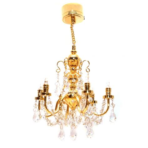 Battery Chandelier by Lt7517 6 Arm Dolls House Light Chandelier