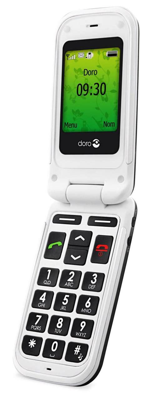 le pour telephone portable les t 233 l 233 phones pour seniors doro disponiblent dans les espaces sfr silver economie