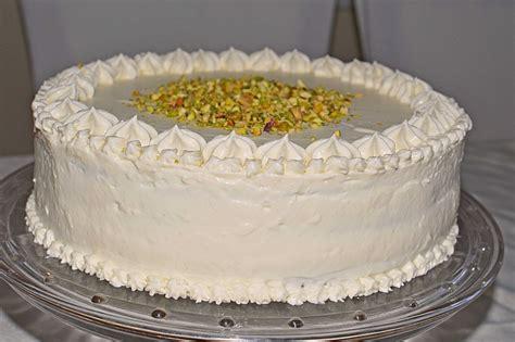 Inibinis Weiße Himbeer-pistazien-torte Von Inibinii