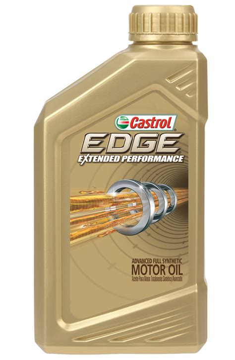 edge extended performance synthetic engine oil castrol