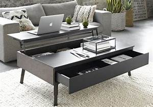 Table Basse Avec Plateau Relevable : comment choisir une table basse multifonction bnbstaging le blog ~ Teatrodelosmanantiales.com Idées de Décoration