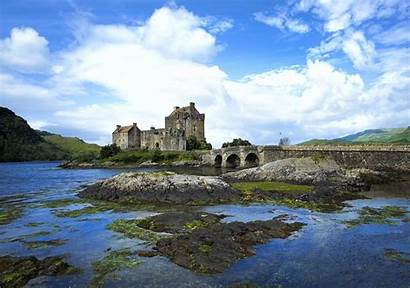 Castle Donan Eilean Scotland Wallpapers Castles Kingdom