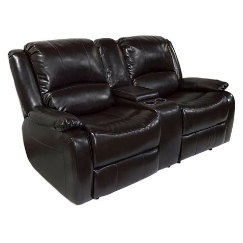 Recliner Sofa With Console by Recpro Charles 67 Quot Rv Zero Wall Hugger Recliner