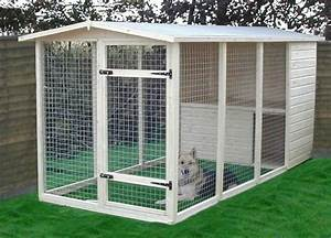 Image detail for houses kennels and catteries dog for Cheap homemade dog kennel ideas