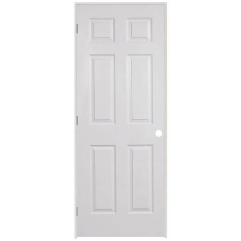 hollow interior doors home depot steves sons 32 in x 80 in 6 panel textured hollow