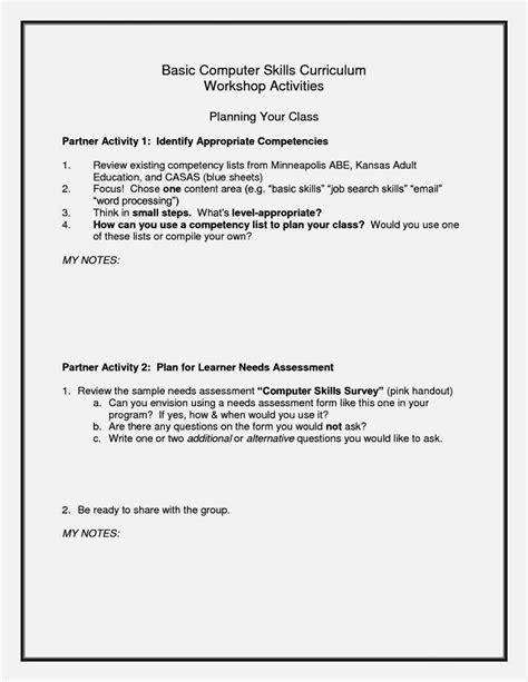 Basic Cv by Basic Skills On A Cv Resume Template Cover Letter