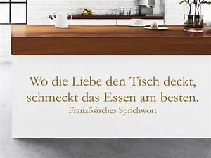 Spruch Zur Hauseinweihung : spr che rund ums essen und genie en als wandtattoo ~ Lizthompson.info Haus und Dekorationen