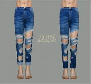 Male Destroyed Jeans At Marigold Sims 4 Updates