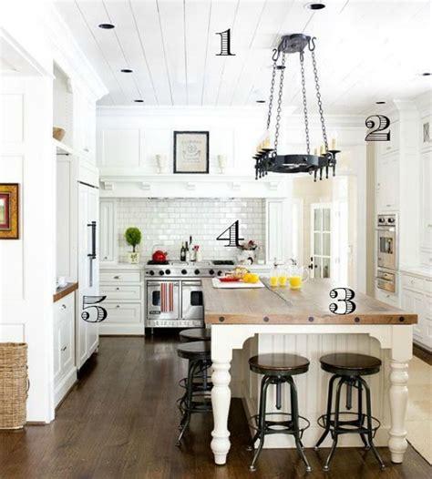 ways     dreamy white farmhouse kitchen