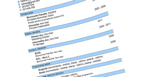my nautical format cadet curriculum vitae cv yang benar