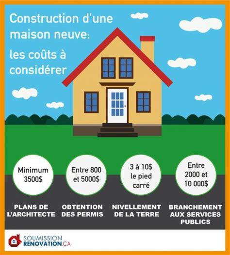 Cout D Une Construction De Maison Les Co 251 Ts Associ 233 S 224 La Construction D Une Maison Neuve