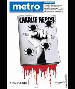 Front page of Metro in Netherlands after the deadly attack ...