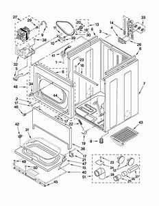 Kenmore Model 11066002010 Residential Dryer Genuine Parts