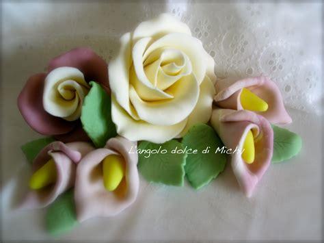 come fare fiori in pasta di zucchero le creazioni di michy fiori in pasta di zucchero