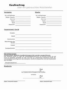 Vorläufiger Kaufvertrag Haus Vorlage : kaufvertrag ber gebrauchtes handy mobiltelefon kostenlos ~ Orissabook.com Haus und Dekorationen