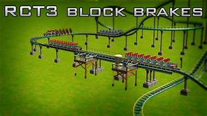 Rct3 - How To Use Block Brakes On Roller Coasters
