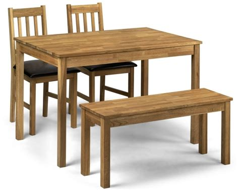 Bench Table Dining Set by Abdabs Furniture Coxmoor Oak Dining Table Bench Set