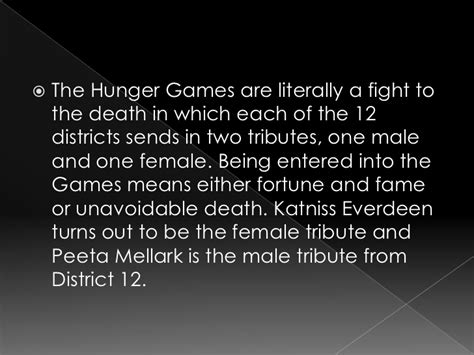 The Hunger Summary Chapter 1 by The Hunger Book Report