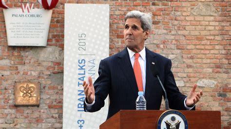 Kerry: - Vi vil ikke inngå en forhastet avtale med Iran - E24
