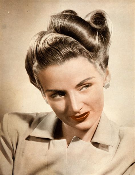 1940s Hairstyles by Is A Thing Of The Past Be Exact In Building Pin Curls