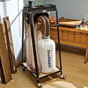 Rockler Dust Right Wall Mount Dust Collector Rockler