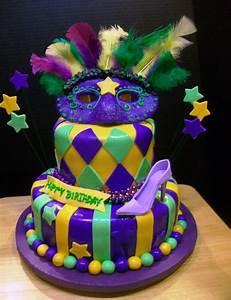 Mardi Gras Birthday - CakeCentral com