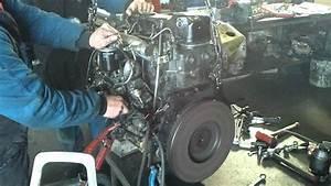 Arrancando Motor Mitsubishi Canter 3 4 Reparado En Adf