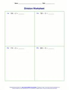division problems division worksheets for grades 4 6