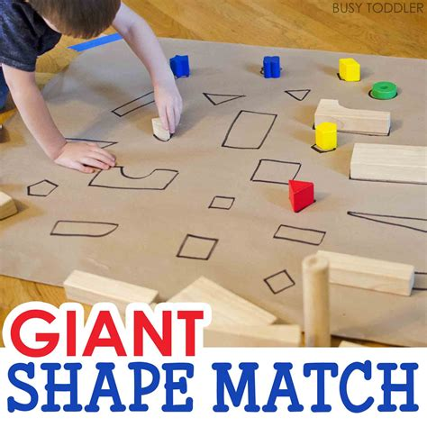 shape match activity busy toddler 971 | giantshapehuntSQUARE