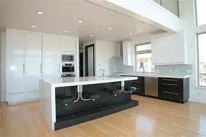 guide to choosing the right kitchen counter stools With built black kitchen island in your modern home