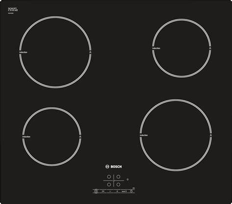piano cottura induzione bosch pia611b68j bosch serie 4 pia611b68j built in zone induction hob black