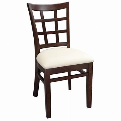 Chair Wood Lattice Side Window Seat Upholstered