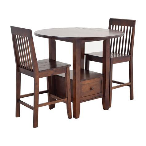 bar dining table set 61 off threshold threshold pub table set tables